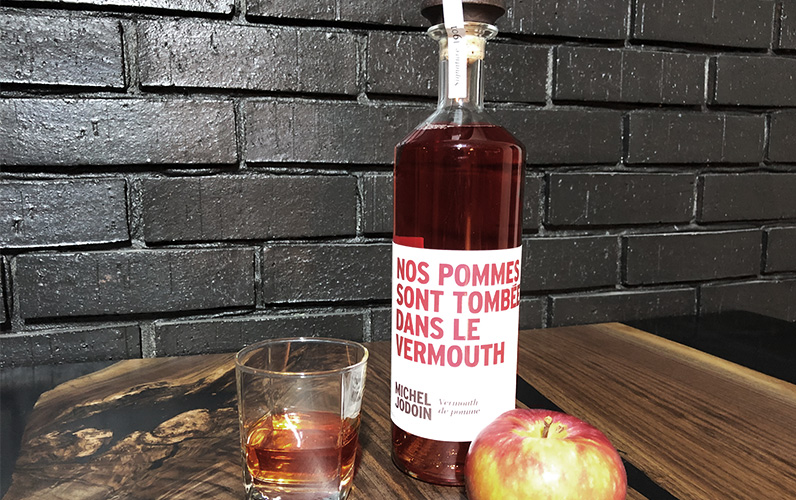 Vermouth pommes Épicurienne table