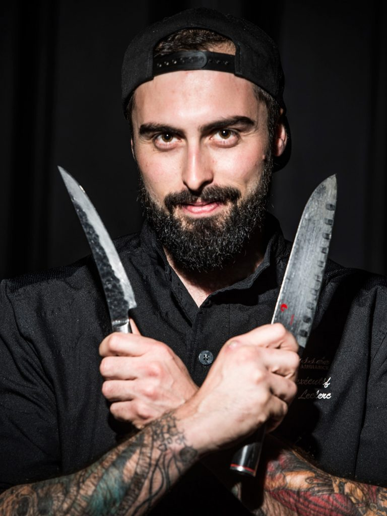 Chef Hugo Leclerc