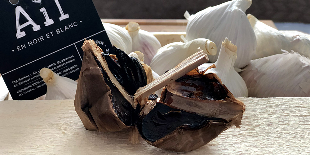 ail noir ail blanc épicurien bois