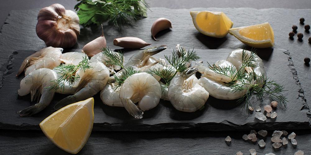 crevette ail noir blanc Dorothée l'épicurienne