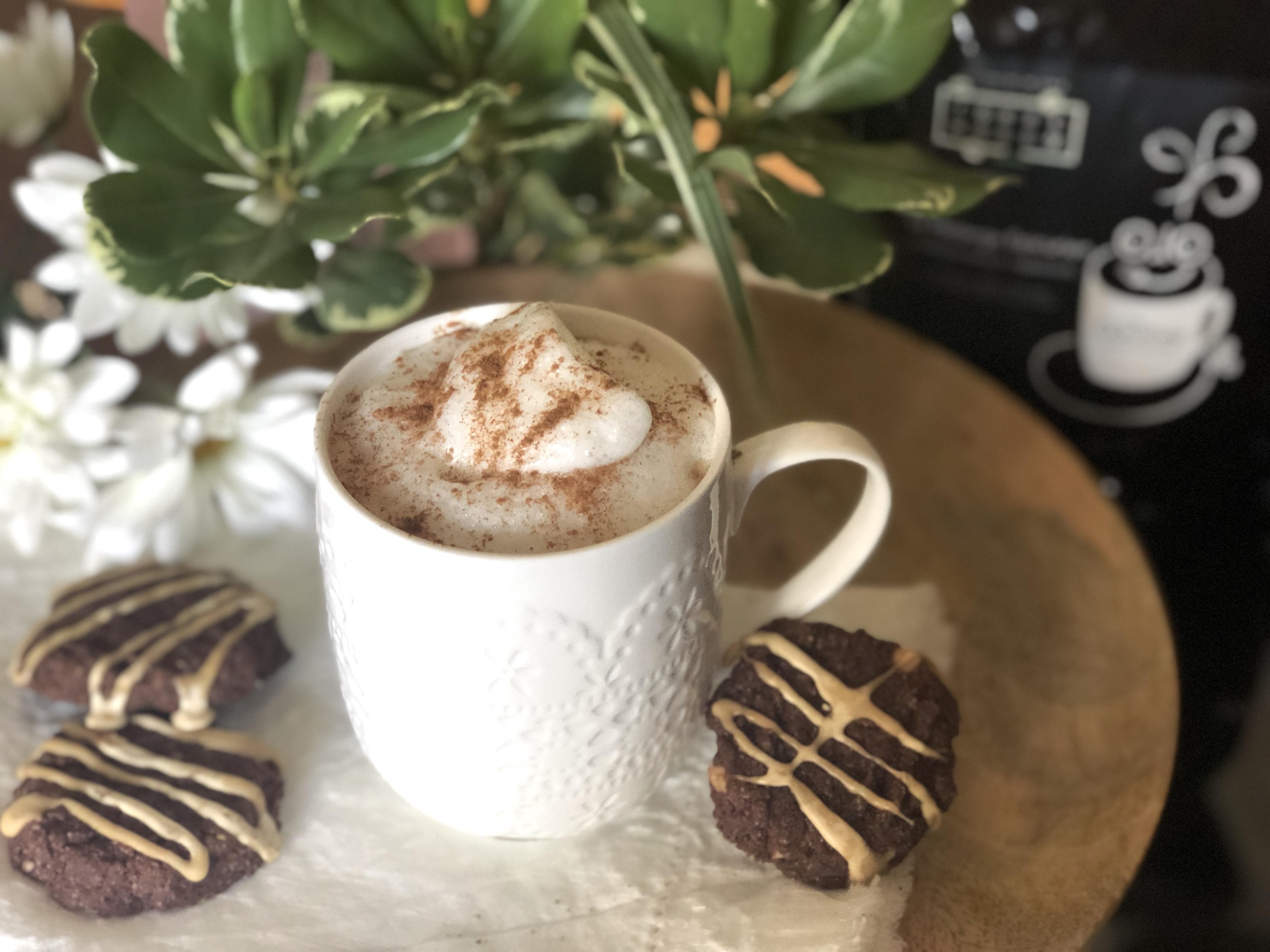 Biscuits chocolat-café avec glaçage espresso