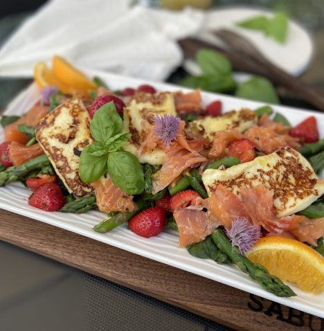 salade_asperges_fraises_dorothee_lepicurienne